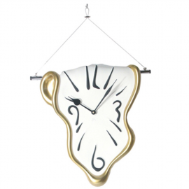 "Hanging ""melting"" clock"