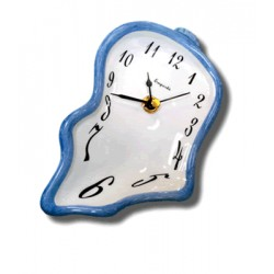 Ceramic small clock - Blue