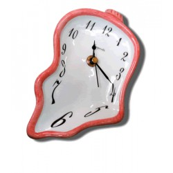 Ceramic small clock - Red