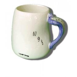 Large ceramic cup - Blue