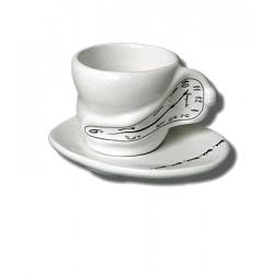 Ceramic tea cup - White