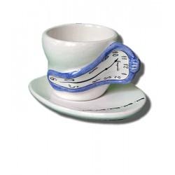 Ceramic tea cup - Blue