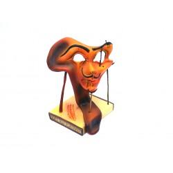 STATUETTE DE COLLECTION - Autoportrait avec lard grillé