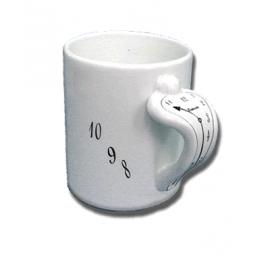 "Ceramic ""Melting"" Mug / White"