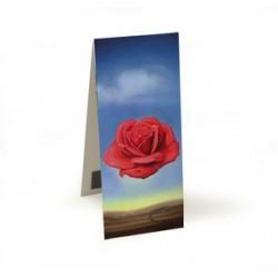 Marque-pages magnétique - La rose méditative