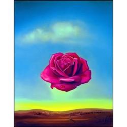 """Affiche - """"La rose méditative"""""""