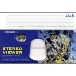 """Carte Stéréoscopique """"Galatée aux sphères"""""""