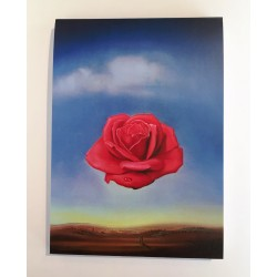 Carnet Rose méditative